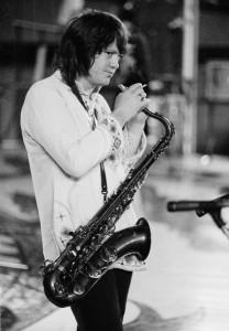 Bobby Keys - 1973 Credit: Michael Putland / Getty Images