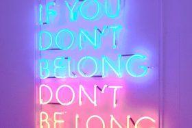 {bon mot} monday |belonging
