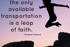 monday muse | leap of faith